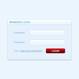 Simple login form